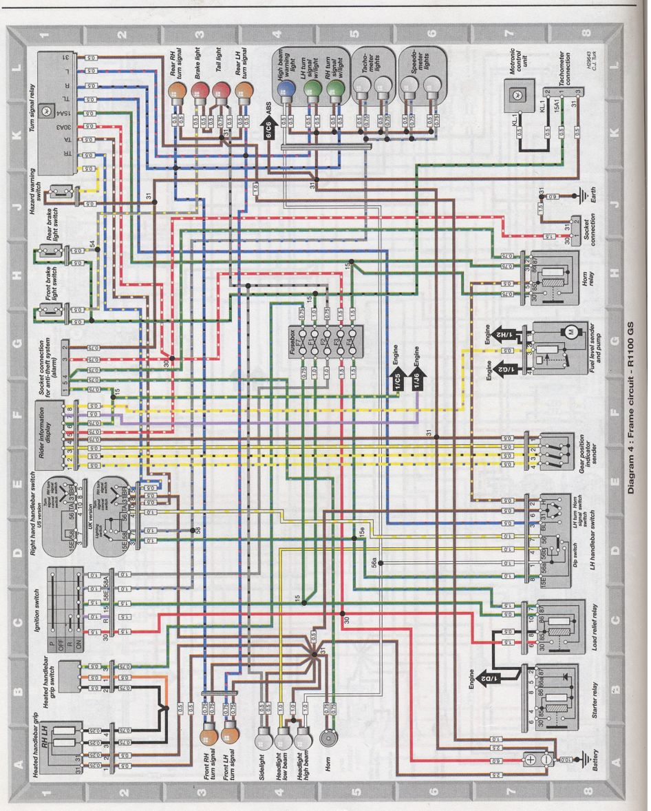 K100 Wiring Diagram Will Be A Thing Bmw K1100rt Forum 1985 Kenworth Residential Electrical Diagrams